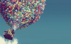 Обои Вверх: Дом, Воздушные шары, Вверх, Мультфильмы