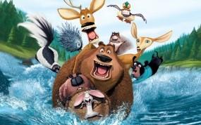 Обои Сезон охоты: Вода, Мультфильм, Звери, Сезон охоты, Мультфильмы
