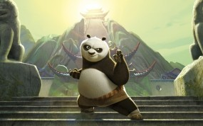 Обои Кунг-фу Панда 2: Панда, Мультфильм, кунг-фу, Мультфильмы