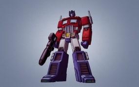 Обои Трансформеры: Оптимус Прайм, Робот, Мультфильм, Грузовик, Трансформеры