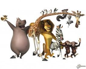Обои Мадагаскарцы: Мадагаскар, Мультфильмы