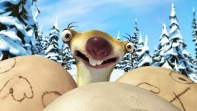 Обои Сид с яйцами: Яйца, Ice Age, Ледниковый период, Ленивец, Мультфильм, Сид, Мультфильмы