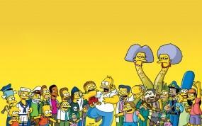 Обои Симсоны: Симпсоны, Гомер, Мультфильмы