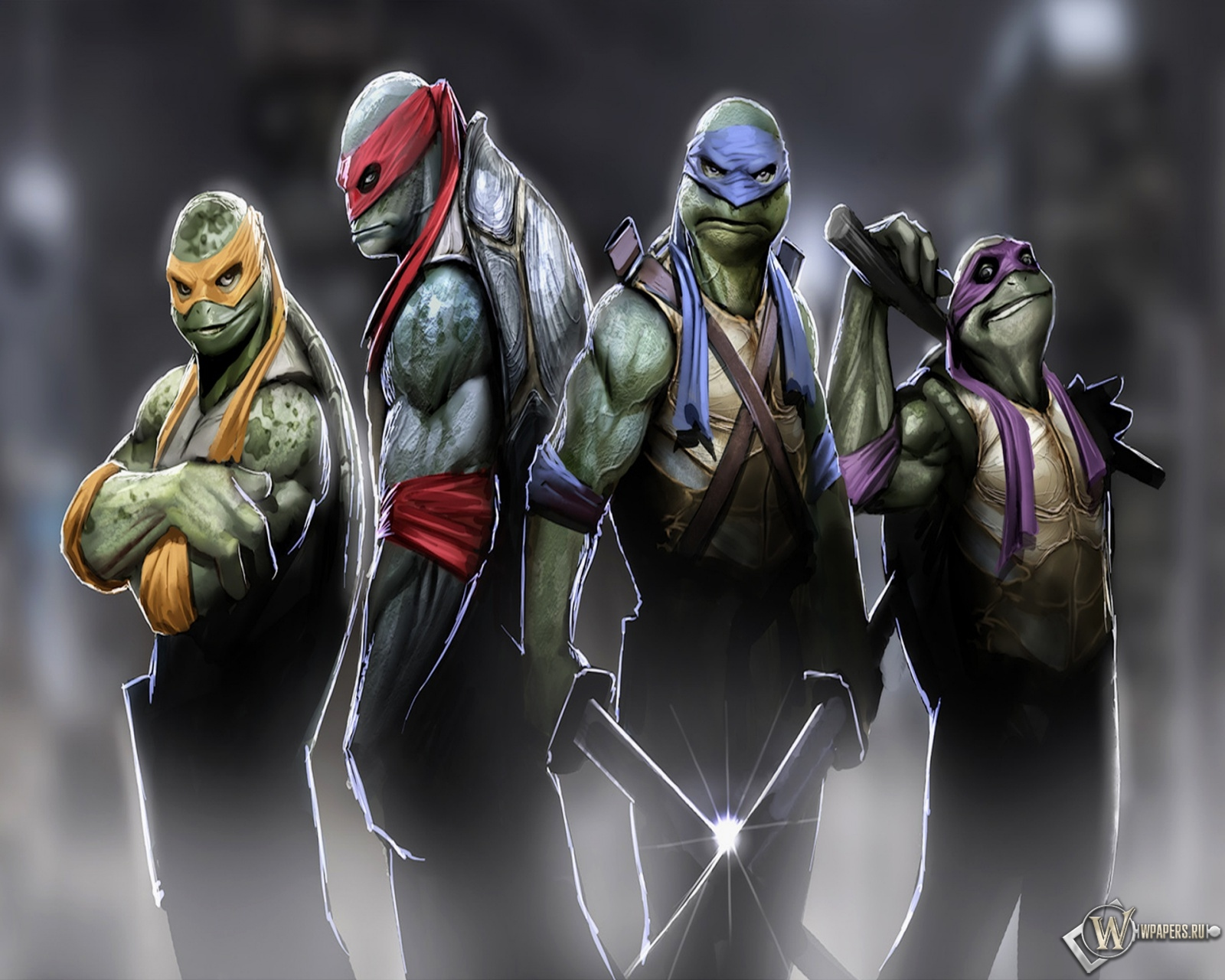 Комиксы о черепашках ниндзя от издательства mirage studios
