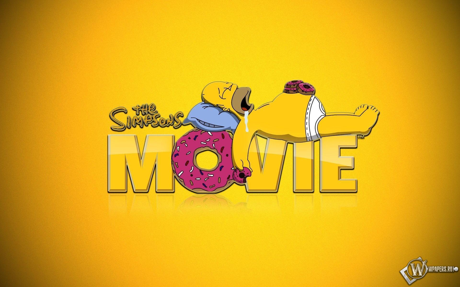 Симпсоны в кино 1920x1200