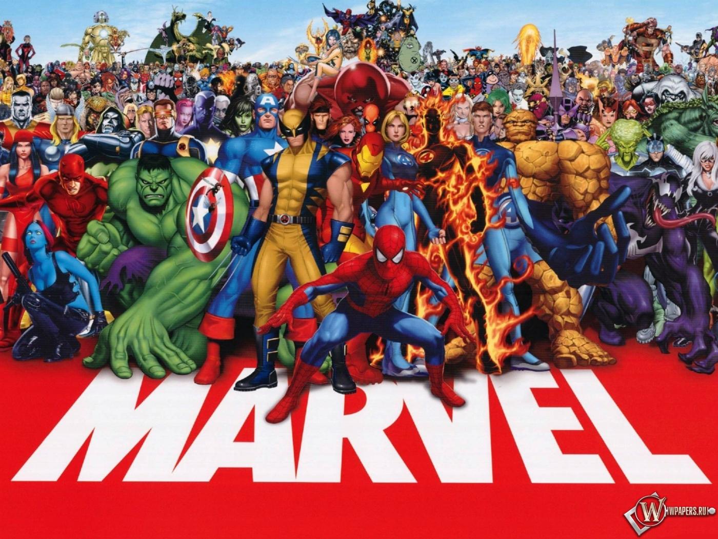 Обои marvel комиксы супергерои marvel