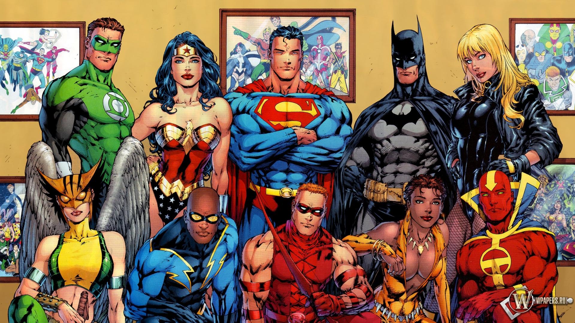 Обои супергерои фото дома бэтмен