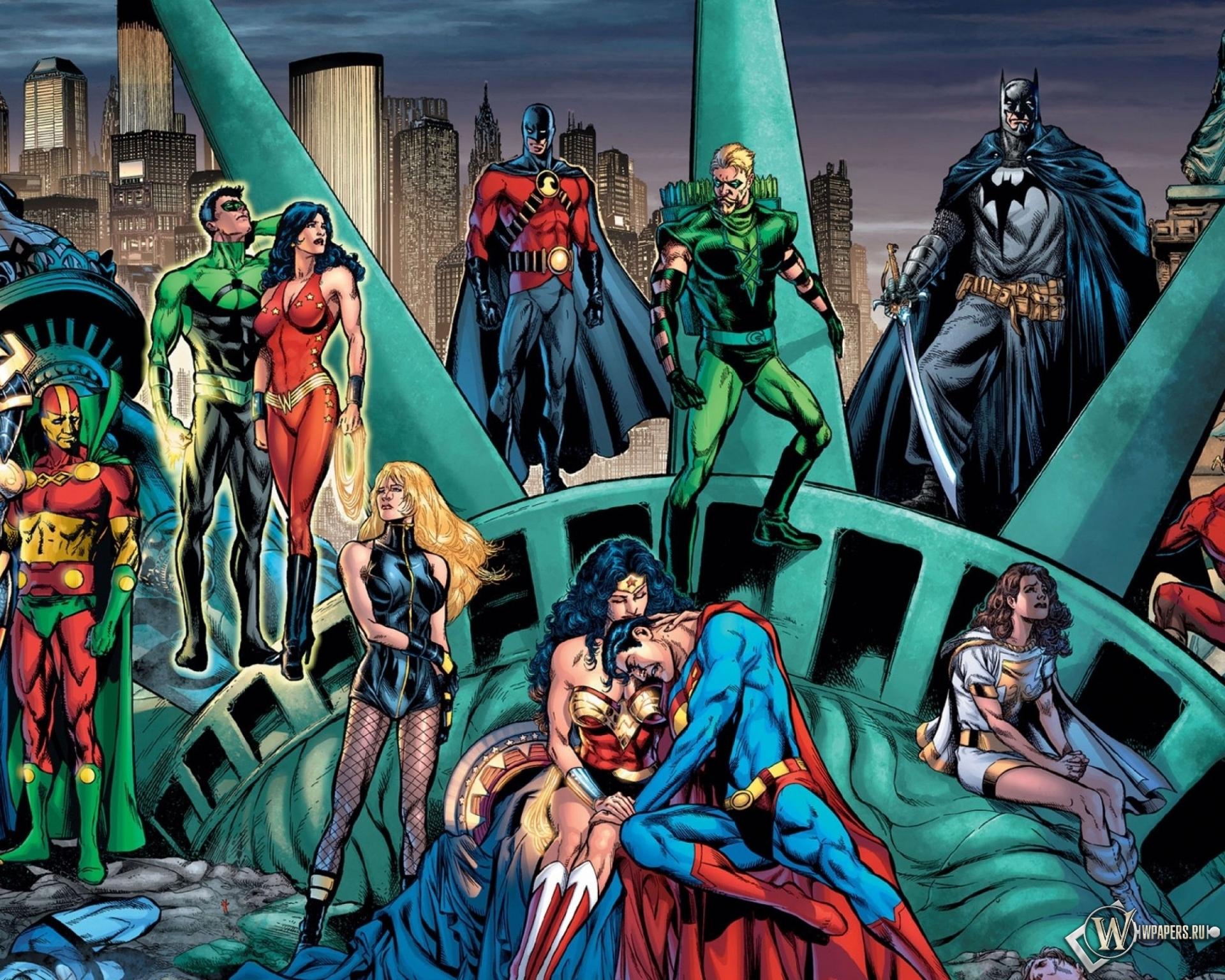 Обои супергерои молния бэтмен