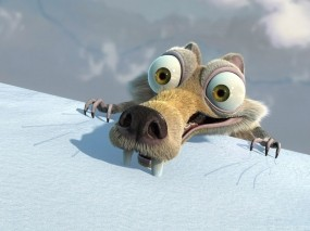 Обои Белка из Ice Age: Белка, Ice Age, Ледниковый период, Фильм, Мультфильмы
