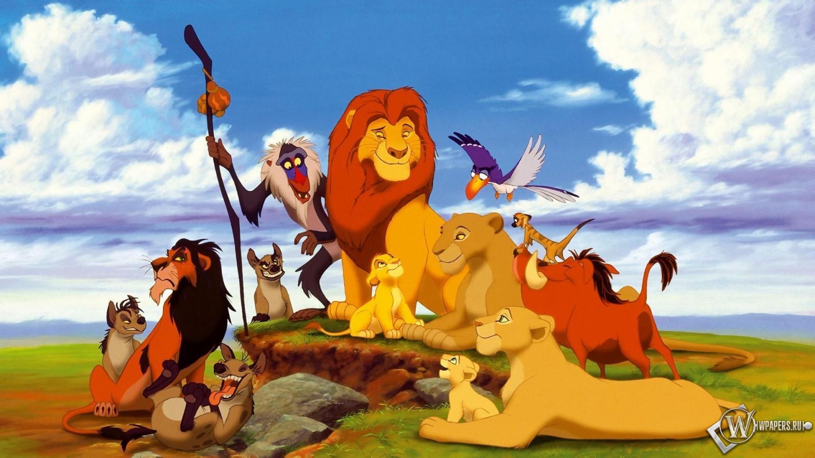 Обои король лев король лев тимон