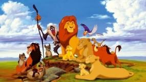 Обои Король Лев: Король Лев, Тимон, Пумба, Мультфильмы