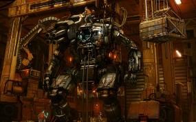 Обои Робот: Робот, Завод, Цех, Мультфильмы
