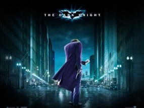 Обои The Dark Knight: Джокер, Бэтмен, 2012