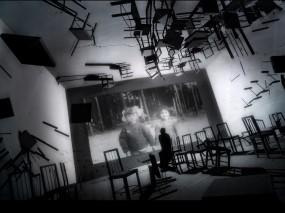 Обои Мрачные обои: Комната, Фото, Стулья, Ужасы