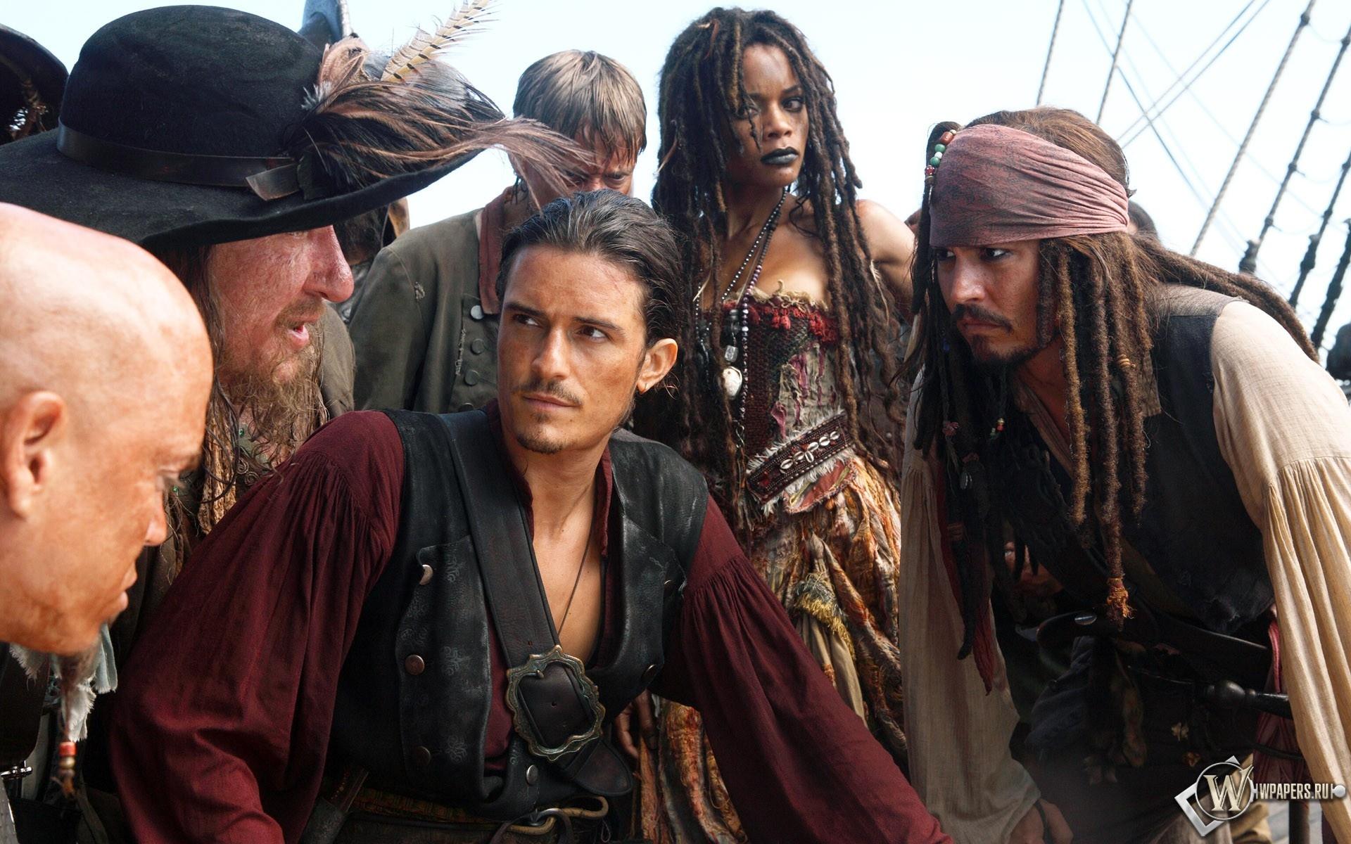 Пираты Карибского моря: На краю света (2007) 1920x1200