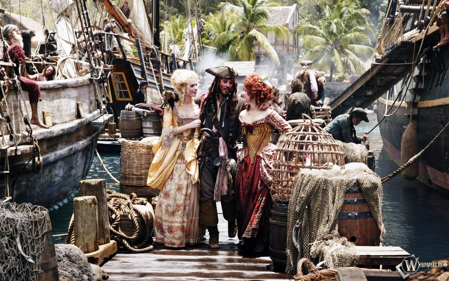 Обои pirates of the caribbean пираты карибского