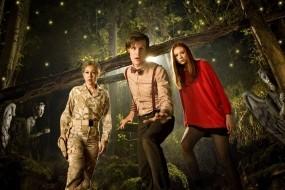 Обои Доктор Кто: Лес, Доктор Кто, Доктор, Сериалы