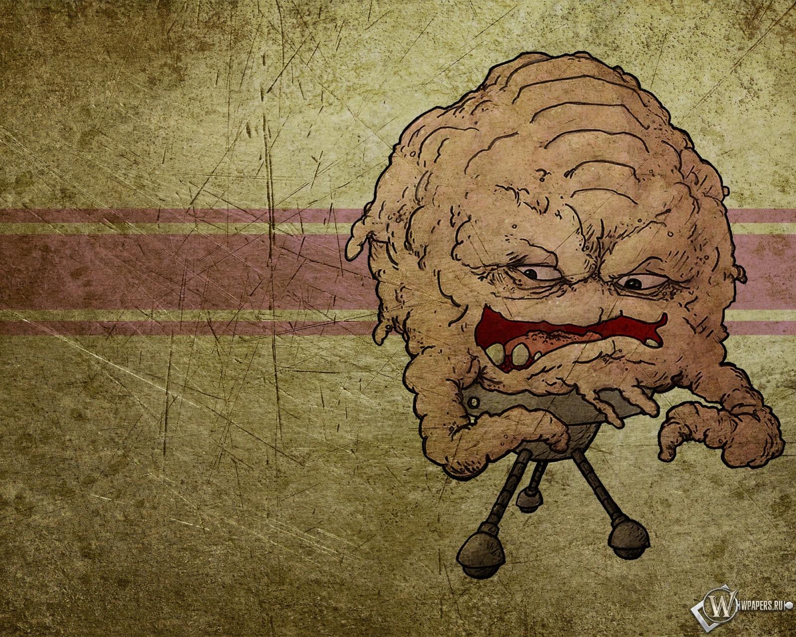 Обои кранг мультфильм черепашки