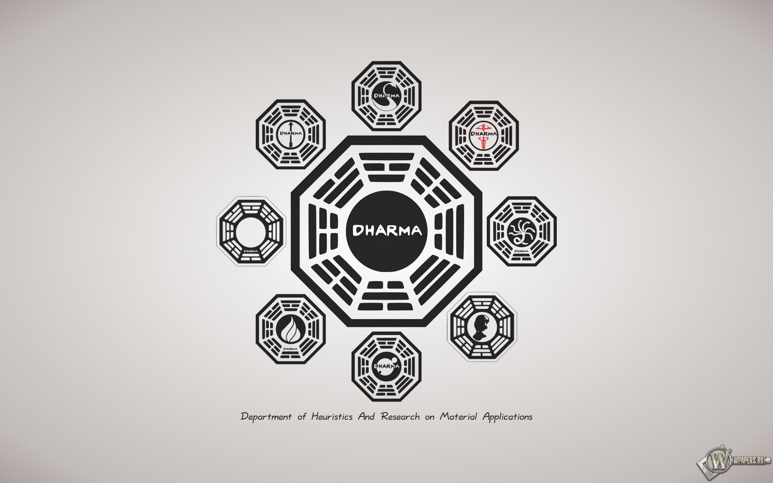 Dharma Initiative 2560x1600