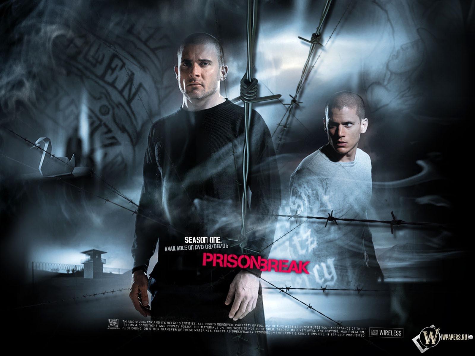 Prison Break Побег из Тюрьмы 1600x1200