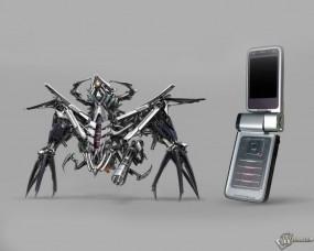 Обои Nokia Bots: Телефон, Трансформер, Трансформеры