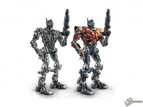 Обои Скелет оптимуса: , Трансформеры
