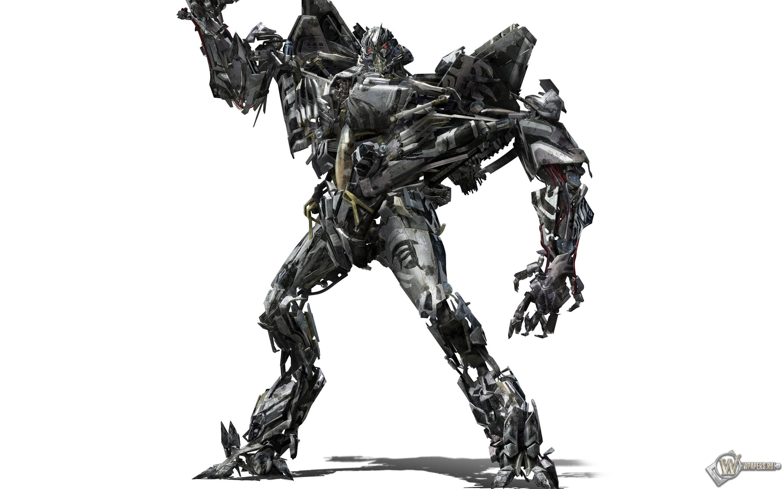 Робот трансформер десептикон 2560x1600
