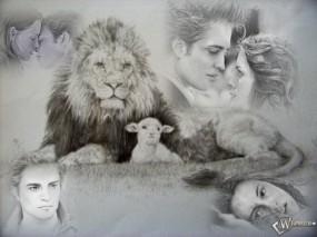 Обои Лев и овечка: Романтика, Символика, Ассоциации, Сумерки