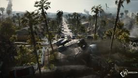 Обои 2012: Пальмы, Хаос, Трещины в земле, 2012