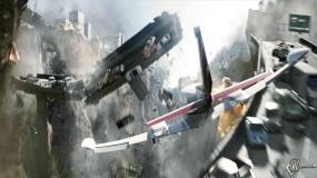 Обои 2012: Спасение, Экстрим полет, Разрушение города, Падение зданий, 2012