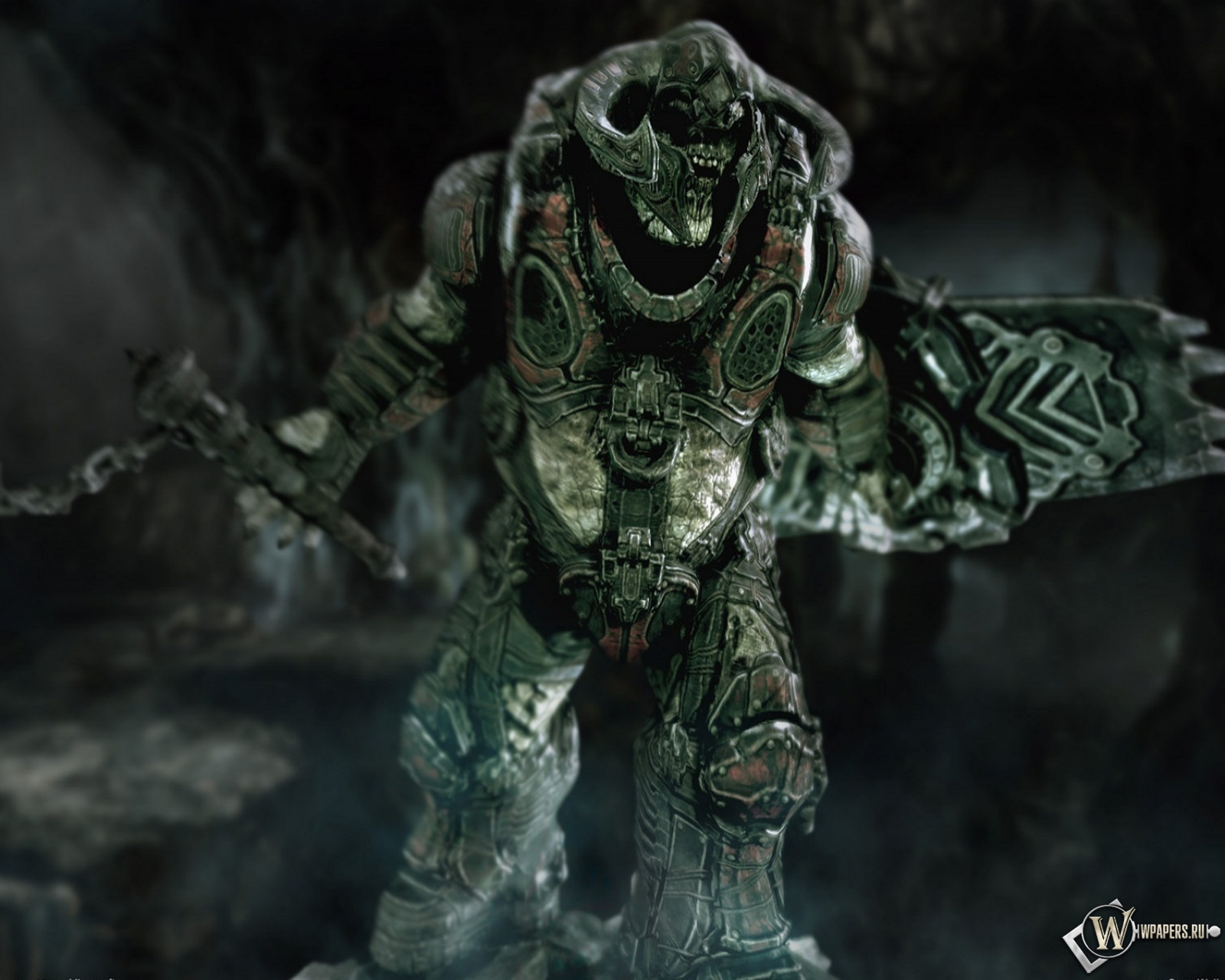 Скачать обои Gears Of War Monsters (Gears Of War, Игра