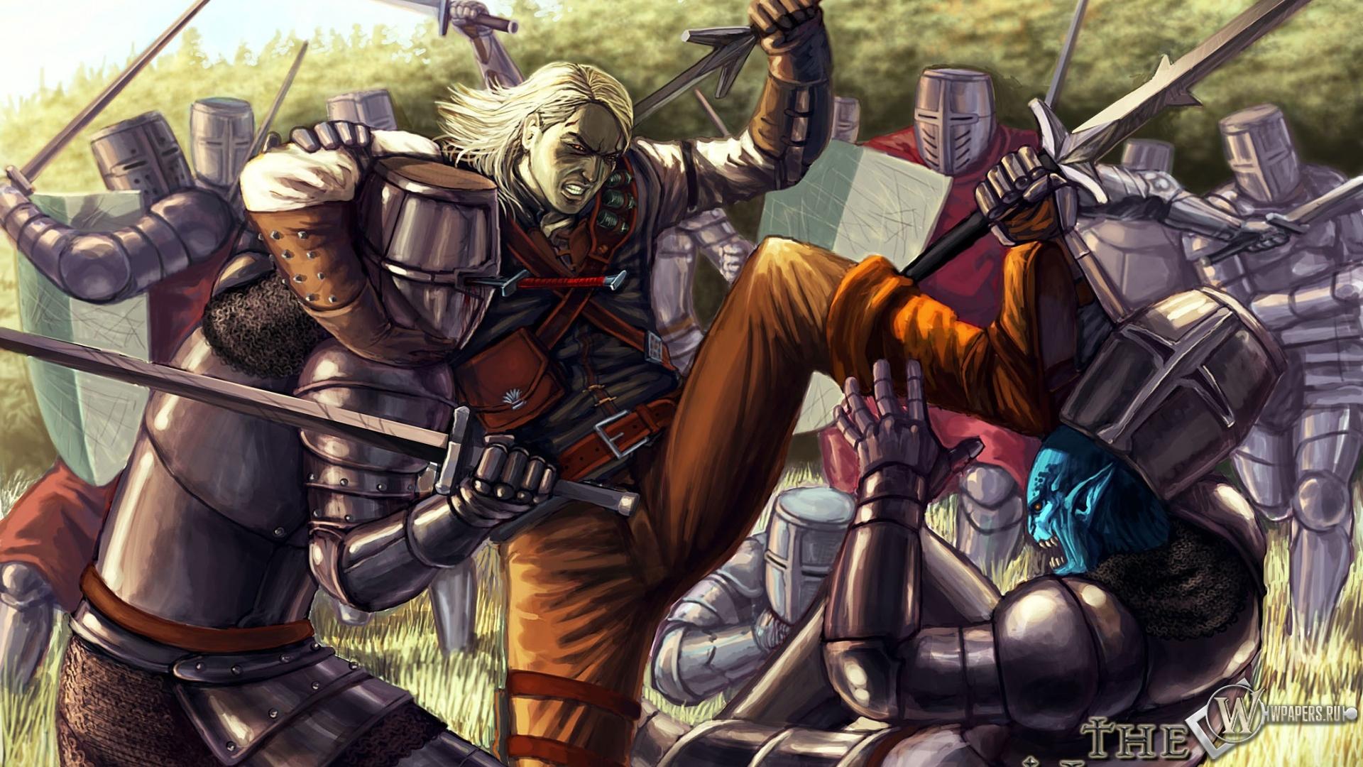Обои для рабочего стола рыцари средневековья