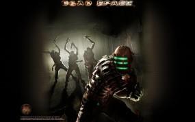 Обои Dead Space: Монстр, Игра, Dead Space, Нанокостюм, Другие игры