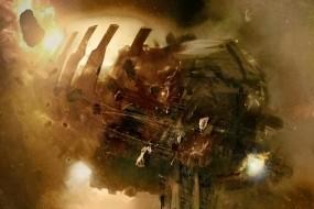 Обои Dead Space: Свет, Космос, Корабль, Dead Space, Другие игры