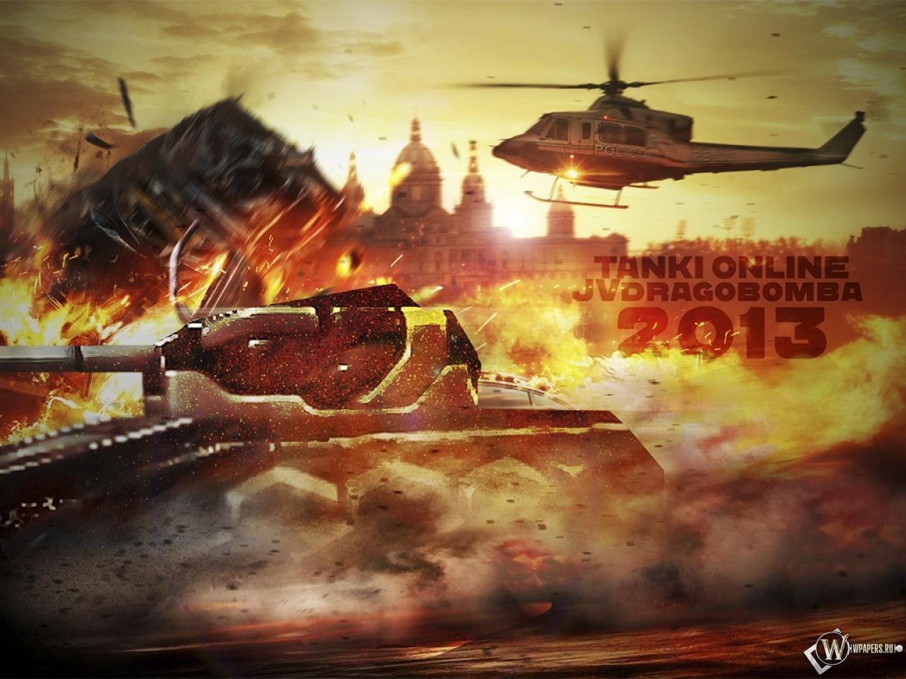 Скачать обои танки онлайн игра танк
