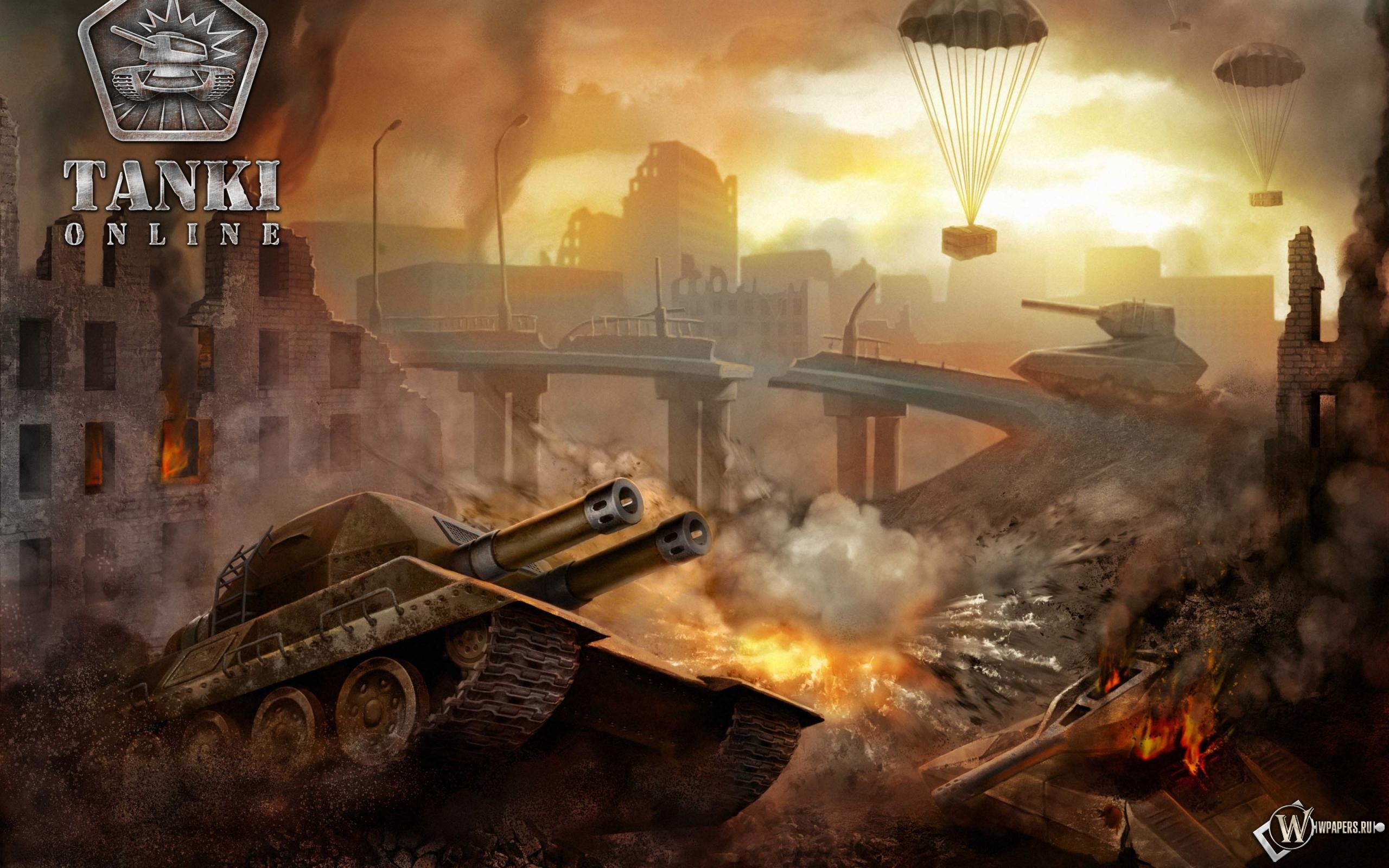 Обои танки онлайн игра танки онлайн
