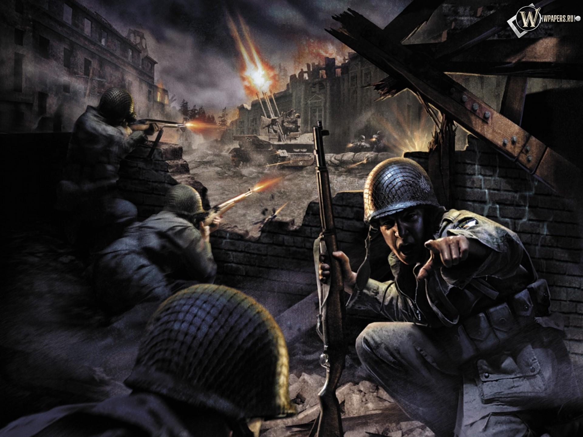 Игровые обои Call of Duty.
