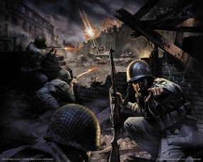 Обои Call of Duty: Война, Солдаты, Call of Duty, Стрелки, Call of Duty