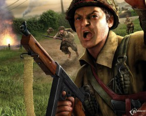 Обои Brothers in Arms: Brothers in Arms, Call of Duty
