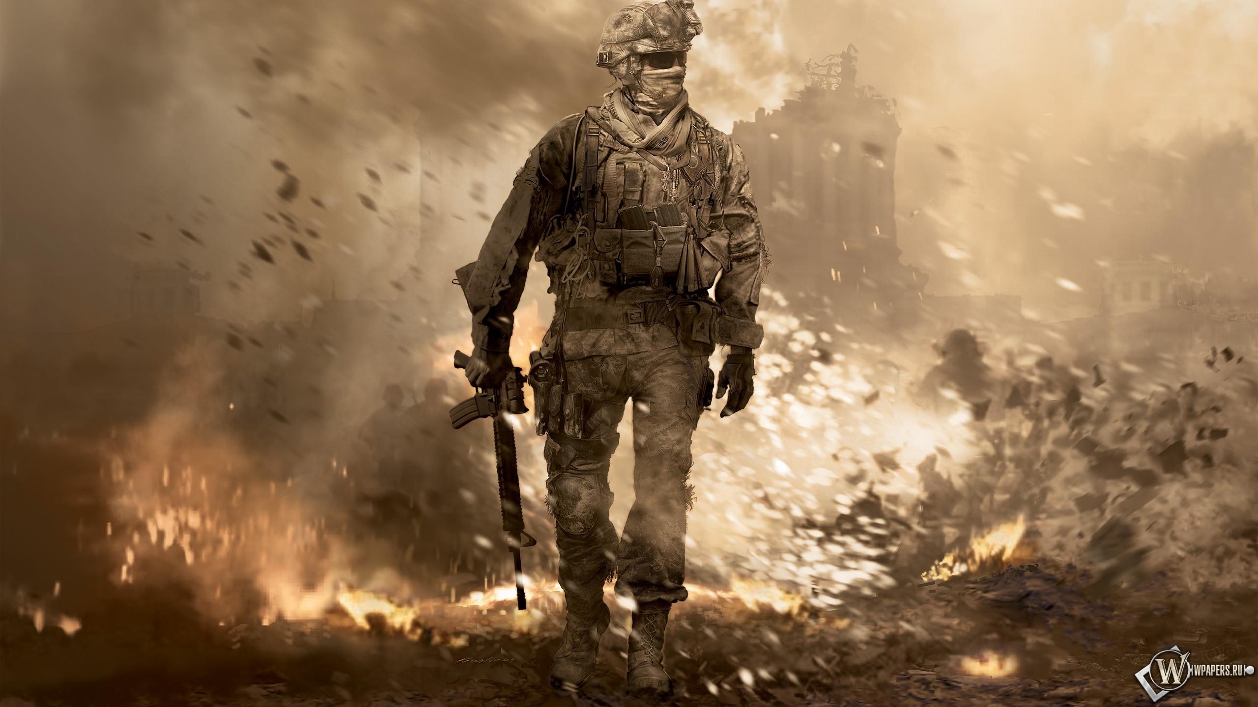 Call of Duty  2560x1440