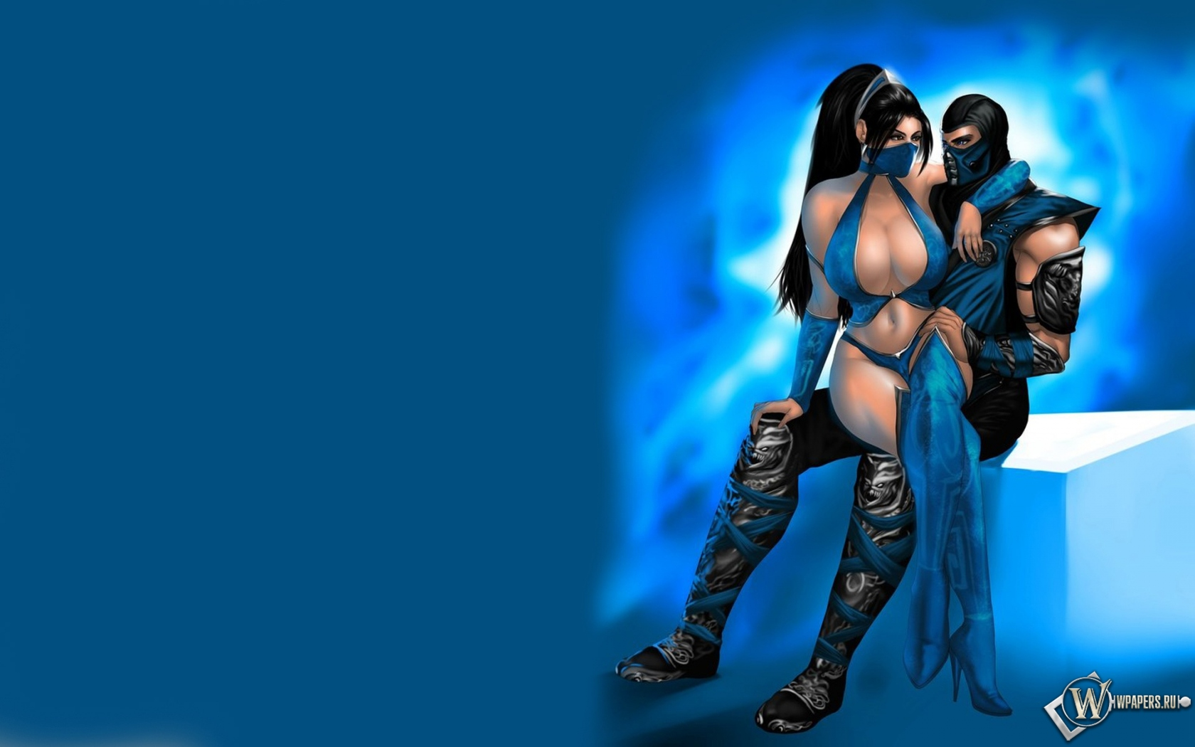... Картинки Mortal Kombat Sub Zero and Kitana Игра, Mortal: wpapers.ru/wallpapers/games/Mortal-Kombat/15986/1680-1050_Mortal...