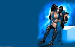 Mortal Kombat Sub Zero and Kitana