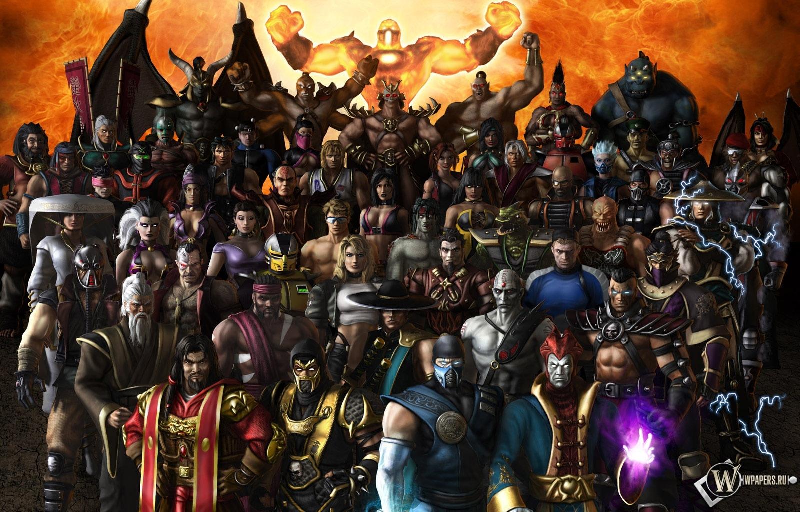 Персонажи Mortal Kombat X  mkxmobilecom