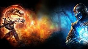 Обои Mortal Kombat: Скорпион, Mortal Kombat, Саб-Зиро, MK, Sub-Zero, Scorpion, Mortal Kombat