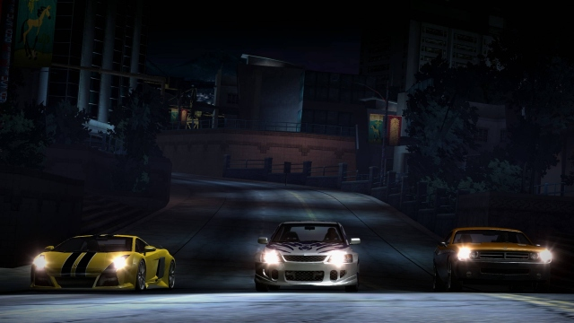 Need for speed carbon разрешение 1366x768 1