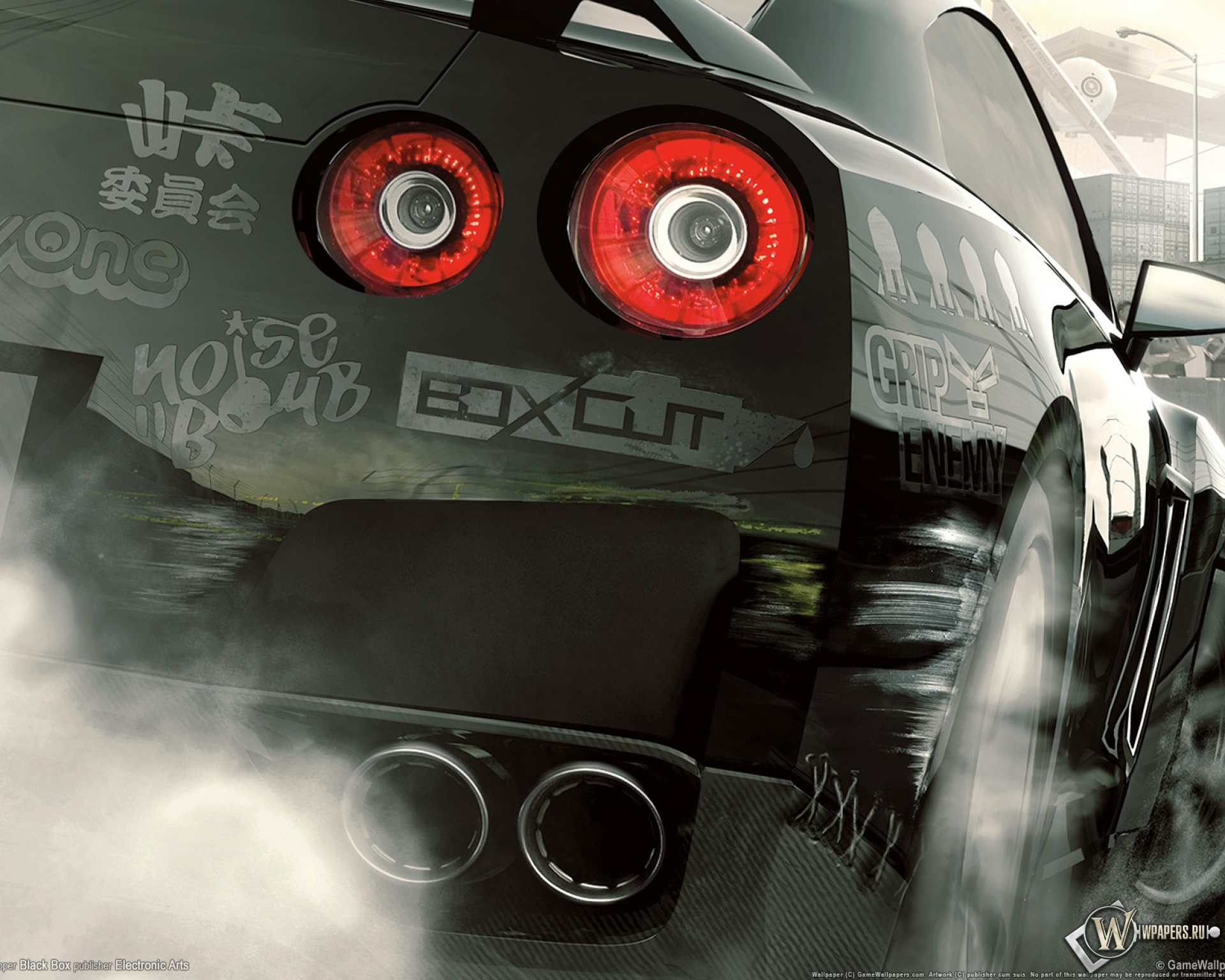 Обои need for speed nissan skyline overtuned на рабочий