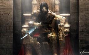 Принц персии на троне