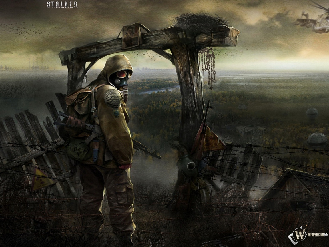 Stalker тень чернобыля автомат сталкер