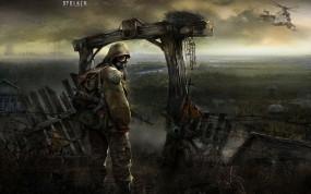 Обои Stalker: Тень Чернобыля: Автомат, Сталкер, Stalker, S.T.A.L.K.E.R