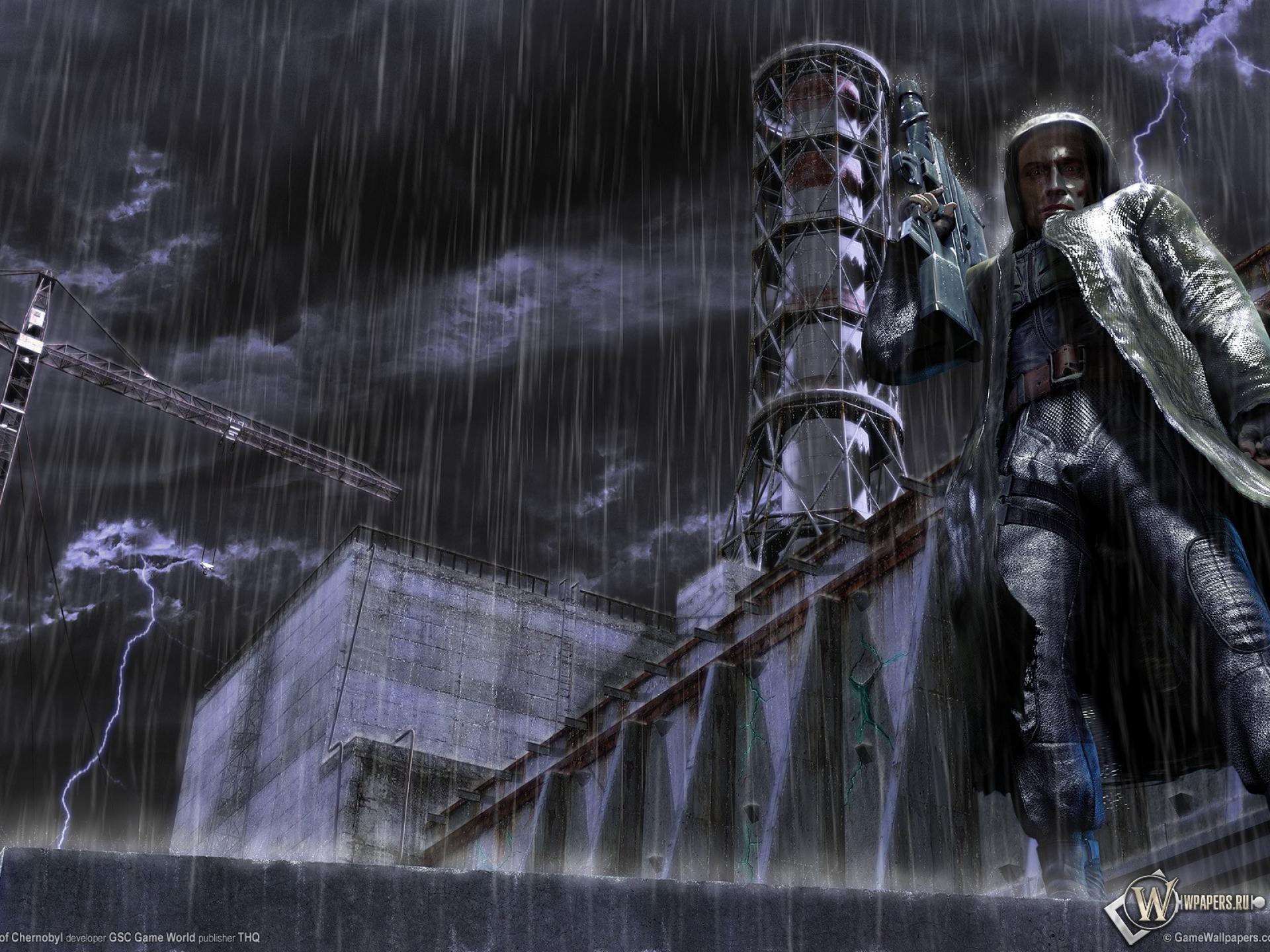 Обои сталкер дождь сталкер stalker аэс